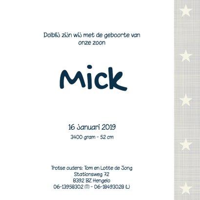 Geboortekaartje-sterren-Mick-SK 3