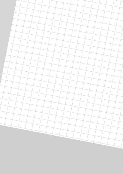 Geslaagd ruitjes papier 2