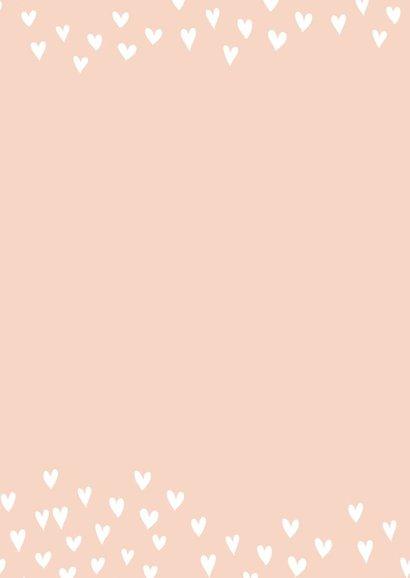 Getrouwd Roze hartjes 2