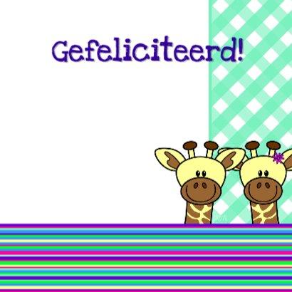 Girafjes 2ling jongen en meisje 3
