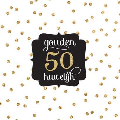 Gouden huwelijk jubileum 2