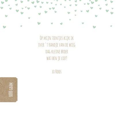 Groene hartjes confetti 2