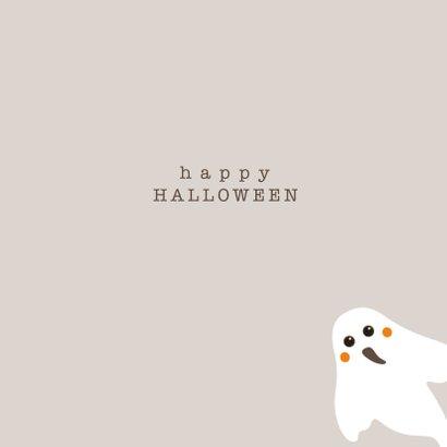 Halloween kaart Boo! - HB 3