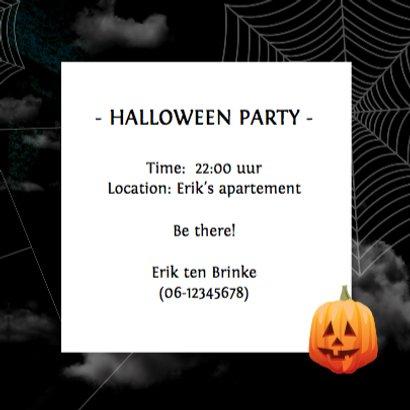 Halloween Uitnodiging Nacht 3