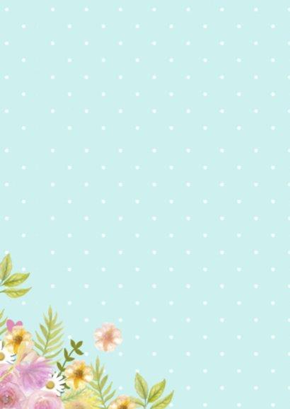 happy birthday krans bloemen 2