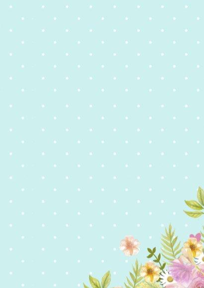 happy birthday krans bloemen 3