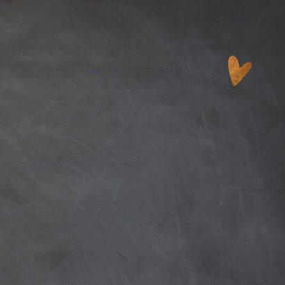 Happy Valentine krijtbord look - LO 3