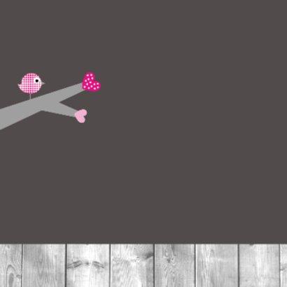 Hartjesboom roze 2