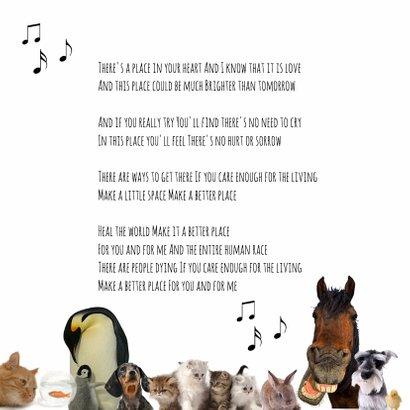 Heal the world dierenkaart-isf 2