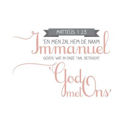 HEE Goodies kerstkaart Immanuel 2