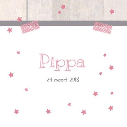Hip geboortekaartje schoolbord 3