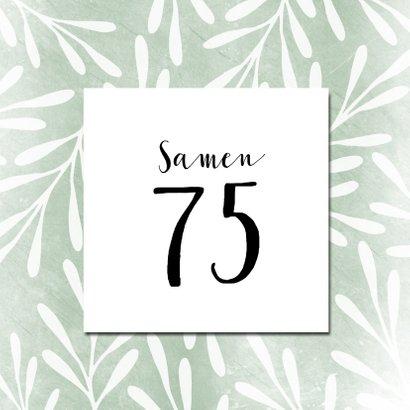 Hippe uitnodiging voor tuinfeest 3