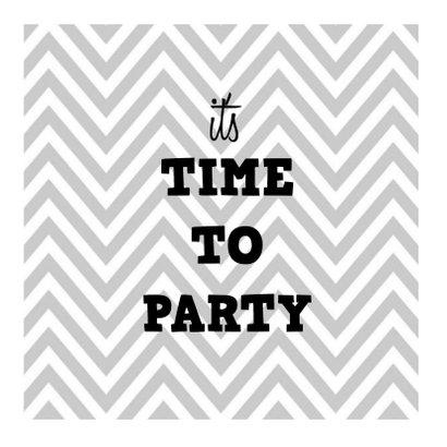 Hippe uitnodiging voor verjaardag 2