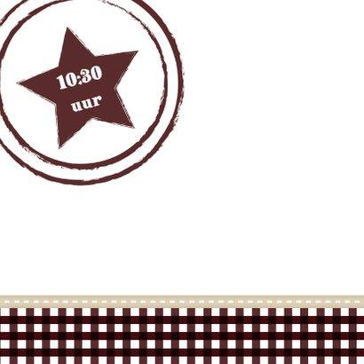 Hout met Label Communie Boy - BK 2