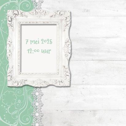 Hout met Label Tea Time - BK 2