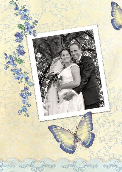 Huwelijksjubileum  25 vlinders - SG 2