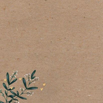 Huwelijksjubileum eucalyptus kraftlook foto's 2