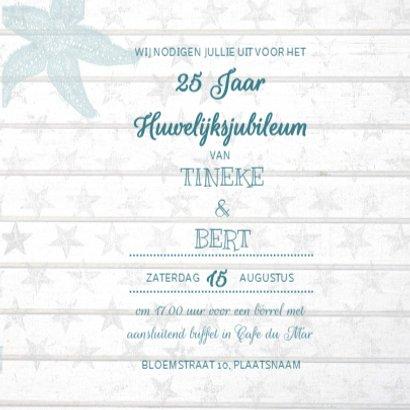 Huwelijksjubileum Strand Hout 3