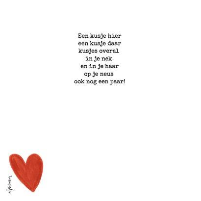 Jij bent de allerliefste valentijnskaart met fotocollage 2