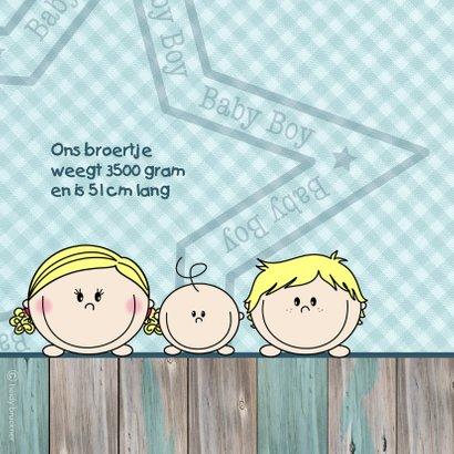 Jongen en meisje hebben broertje 2