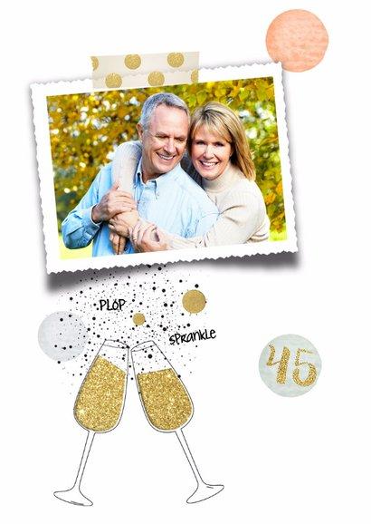 Jubileum huwelijk 45 - confetti  2