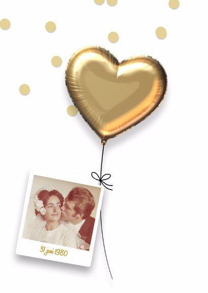 Jubileum huwelijk uitnodiging 40 jaar 2