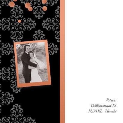 Jubileumkaart Rose Gold  2