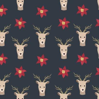 Kerst illustratie deer - DH 2
