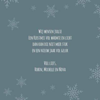 Kerstgroet van Rudolf 3