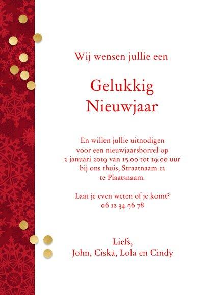 Kerstkaart 4 goudkleurige lijstjes 3