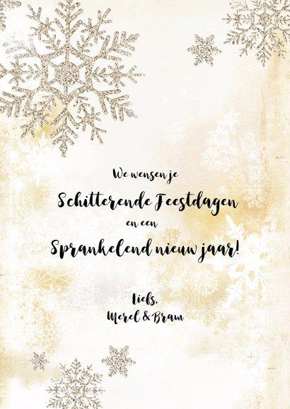 Kerstkaart collage scrapbook staand - SG 3