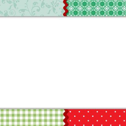 Kerstkaart hert hip pip knipkunst 3