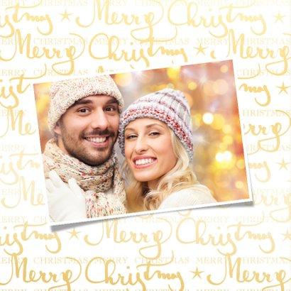 Kerstkaart Merry Christmas 2019 2
