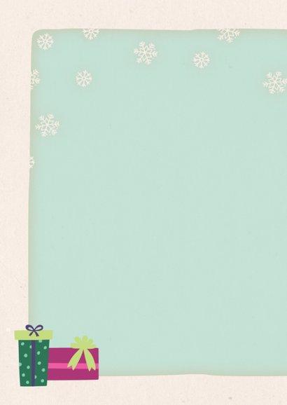 Kerstkaart staand ijsbeer - BK 2