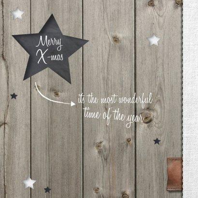 Kerstkaart sterren - lovz 2