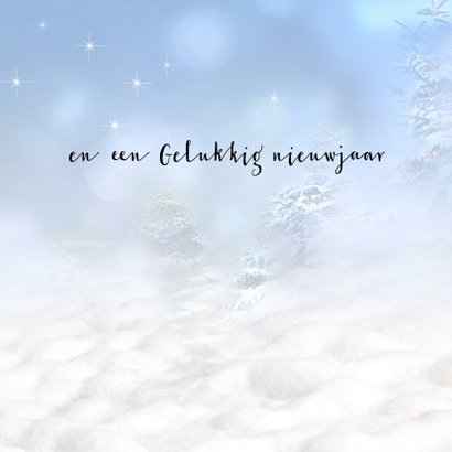 Kerstman in de sneeuw 3