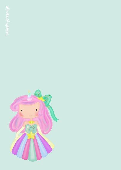 Kinderfeest Prinses Unicorn 2