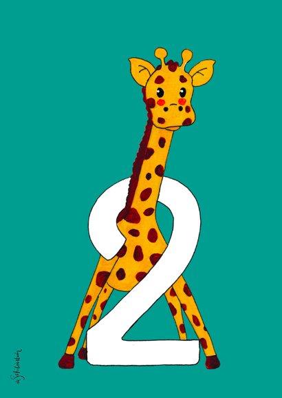 Kinderfeestje 2 jaar giraf - HR 2