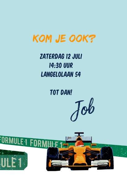 Kinderfeestje Formule 1  3