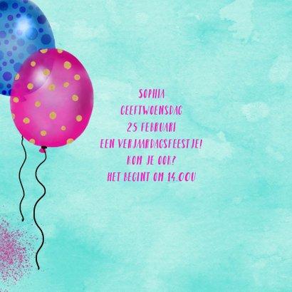 Kinderfeestje lama ballonnen 2