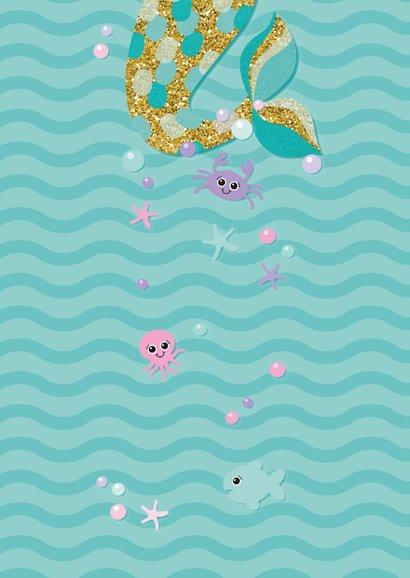 Kinderfeestje met zeemeermin onder water 2