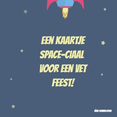 Kinderfeestje SPACE-ciaal feest! 2