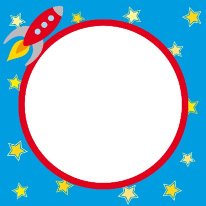 Kinderkaart Raket 2