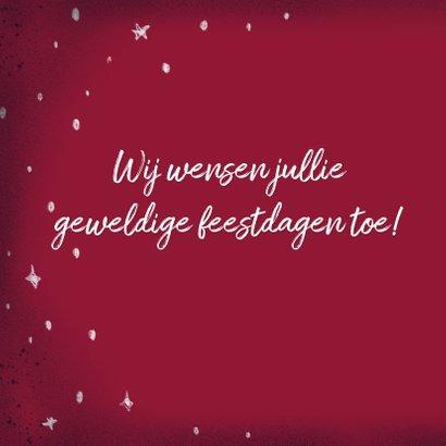 Krijt lettering Merry Xmas 2