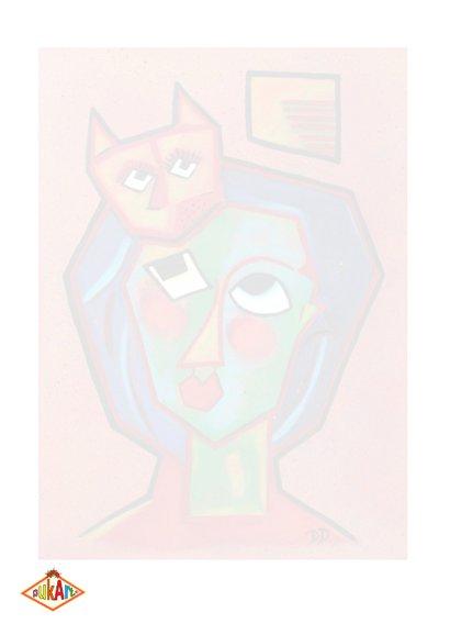 Kunstkaart De Kater 2