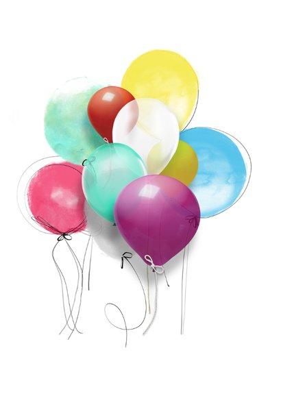 Lentefeest ballonnen SG 2