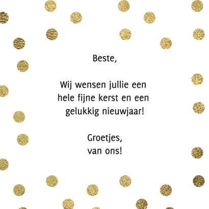 Let's be merry kerstkaart 3