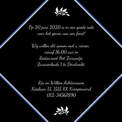 Leuke uitnodiging met de tekst You are Invited 3