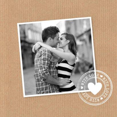 Liefdeskaart kraft slinger  2