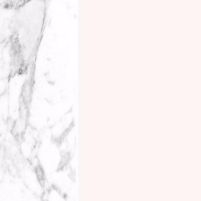 Menukaart marmer geo roze en marmer 2